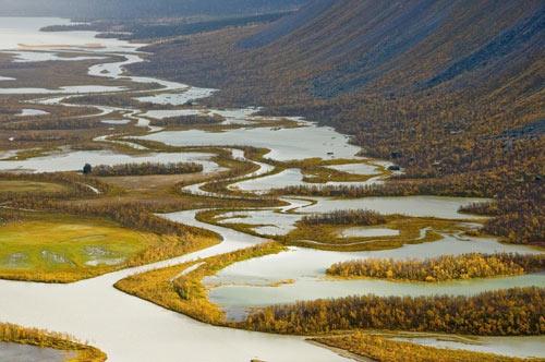 Tuyệt cảnh đồng bằng sông Rapa ở Thụy Điển - 12