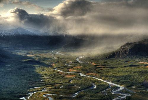 Tuyệt cảnh đồng bằng sông Rapa ở Thụy Điển - 13
