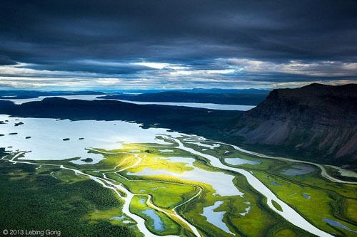 Tuyệt cảnh đồng bằng sông Rapa ở Thụy Điển - 2