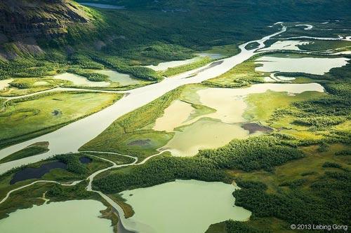 Tuyệt cảnh đồng bằng sông Rapa ở Thụy Điển - 3