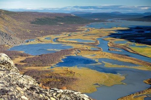 Tuyệt cảnh đồng bằng sông Rapa ở Thụy Điển - 7