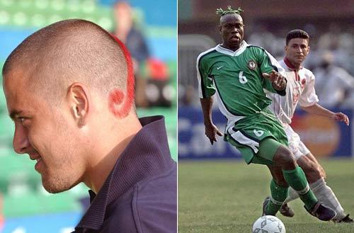 Benzema tái hiện kiểu tóc kỳ dị - 3