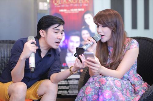 Quang Hà cùng đàn chị chuẩn bị liveshow - 8