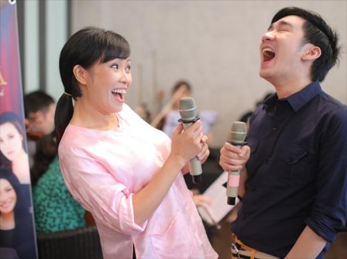 Quang Hà cùng đàn chị chuẩn bị liveshow - 2
