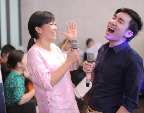 Quang Hà cùng đàn chị chuẩn bị liveshow - 3