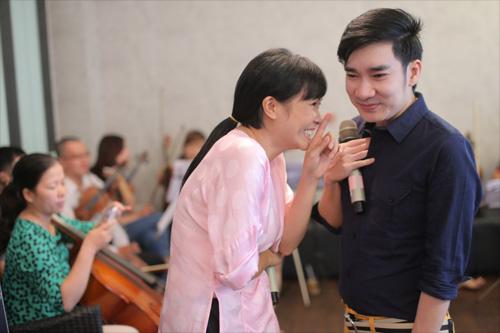 Quang Hà cùng đàn chị chuẩn bị liveshow - 4