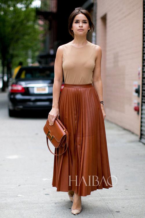 Váy midi tha thướt trong nắng hanh vàng - 2