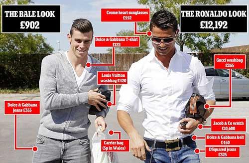 Vừa tới Real, Bale đã khiến CR7 nóng mắt - 2