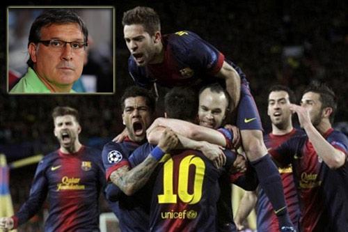 Barca: Martino đang thay đổi tiki-taka - 1