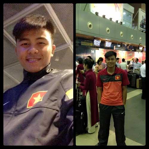 Cầu thủ U23 Việt Nam khoe ảnh đi Hungary - 2