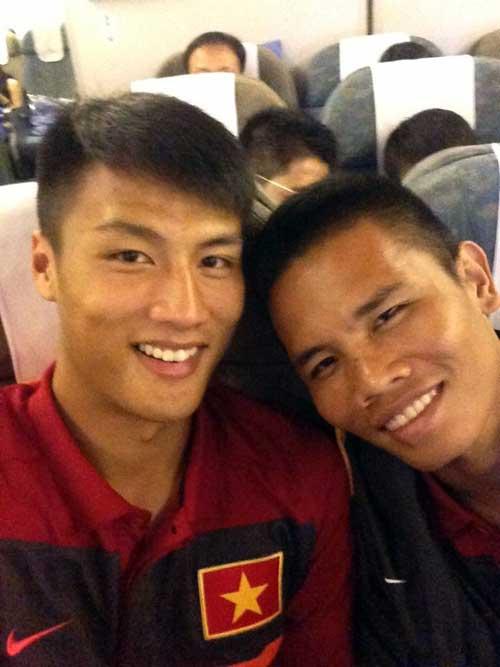 Cầu thủ U23 Việt Nam khoe ảnh đi Hungary - 5