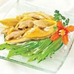 Ẩm thực - Hương nồng nhẹ gà hấp cải bẹ xanh