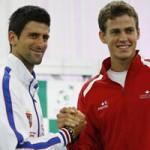 Thể thao - Djokovic - Pospisil: Khởi đầu như mơ (BK Davis Cup)