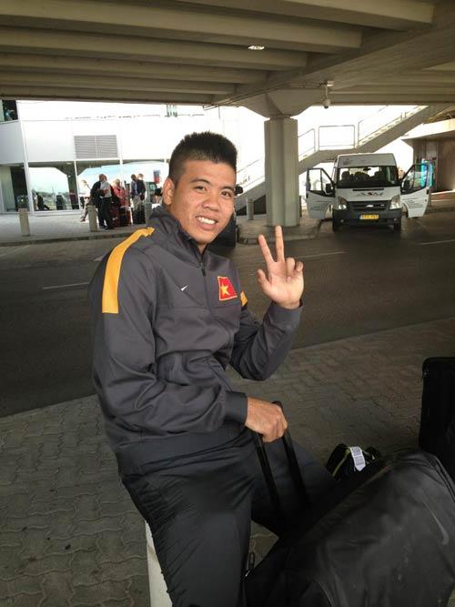 Cầu thủ U23 Việt Nam khoe ảnh đi Hungary - 3