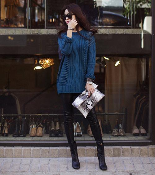 Giúp nàng công sở chọn áo len sành điệu - 3