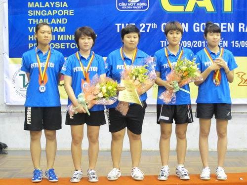 Giải bóng bàn Cây vợt vàng 2013: Tiếc cho Petrosetco TP HCM - 1