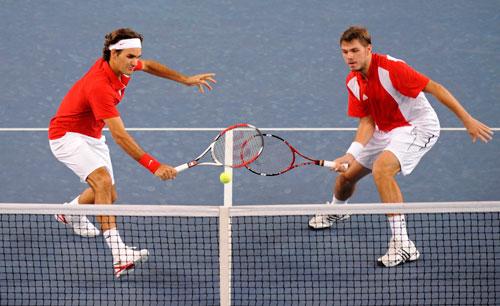 Federer thi đấu đôi nam vì tiền? - 2