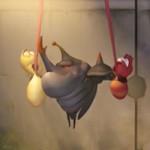 Video Clip Cười - Phim hoạt hình Larva: Xích đu