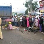 Tin tức trong ngày - Xe ben gây tai nạn, 2 phụ nữ chết thảm