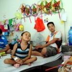 Tin tức trong ngày - Những đứa trẻ đón Trung Thu cùng hóa chất
