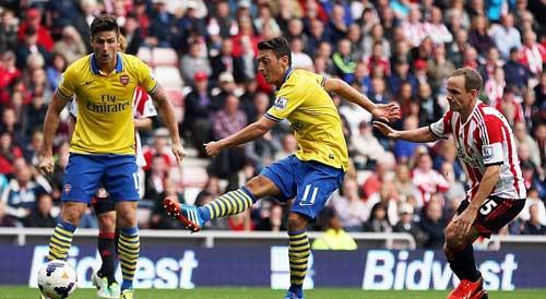 Với Ozil, mũi tên Arsenal đã có dây cung - 1
