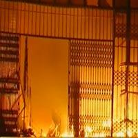 Cháy lớn tại Trung tâm thương mại Hải Dương