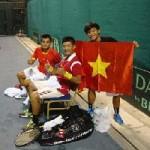 Thể thao - Tuyển Davis Cup Việt Nam thua Malaysia đáng tiếc
