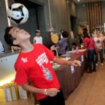 Bóng đá - Mãn nhãn biểu diễn tâng bóng nghệ thuật