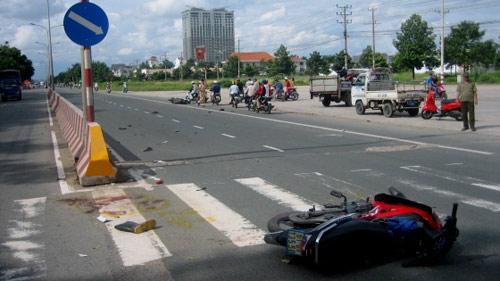 Gây tai nạn, tài xế bỏ mặc nạn nhân đứt lìa chân - 1