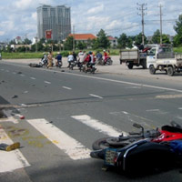 Gây tai nạn, tài xế bỏ mặc nạn nhân đứt lìa chân