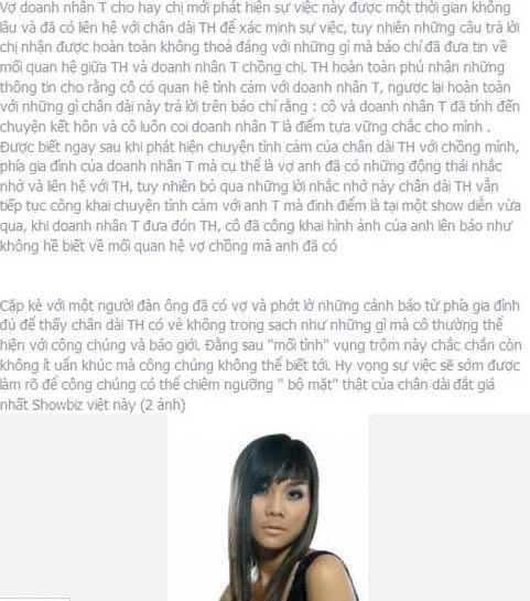 Siêu mẫu Thanh Hằng bị tố giật chồng - 6