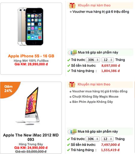 Mua iPhone cùng 7 ngày vàng giảm giá tới 50% - 6