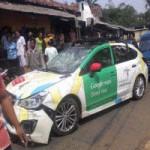 Công nghệ thông tin - Xe Google Street View gây tại nạn liên hoàn tại Indonesia