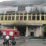 Tin tức trong ngày - TTTM Hải Dương cháy rụi: Xe cứu hỏa đến chậm?