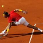Thể thao - Cú smash ngược cực hay của Nadal