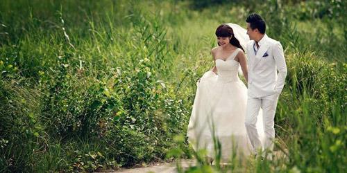 Ảnh cưới như mơ của Minh Hằng, Mạnh Hải - 1
