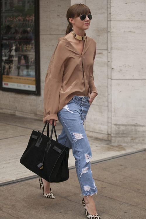 Jeans đẹp nhất khi mộc mạc - 10