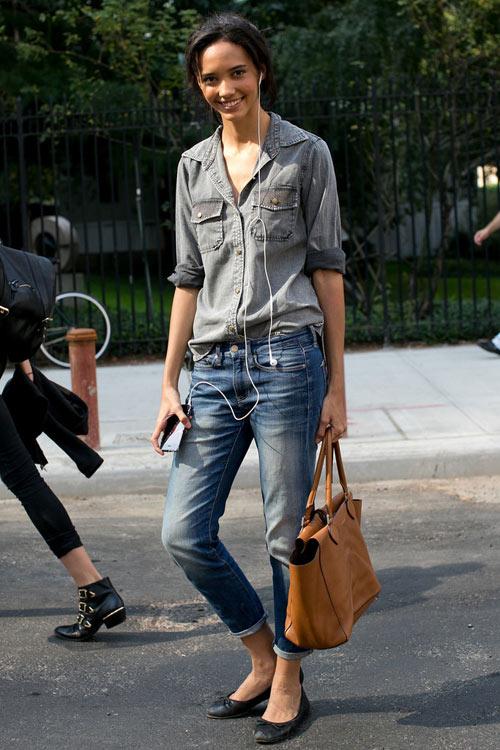 Jeans đẹp nhất khi mộc mạc - 1