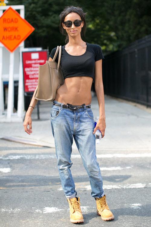 Jeans đẹp nhất khi mộc mạc - 3