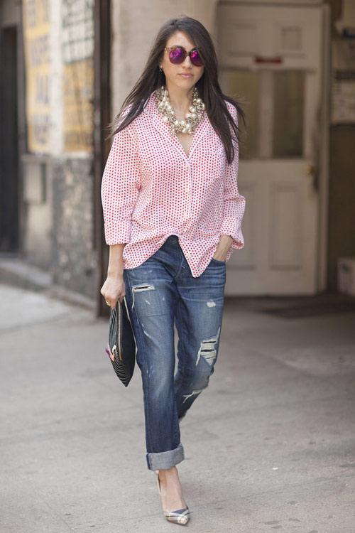 Jeans đẹp nhất khi mộc mạc - 4