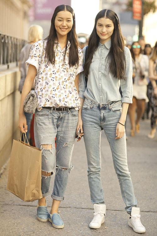 Jeans đẹp nhất khi mộc mạc - 7