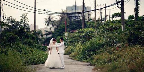 Ảnh cưới như mơ của Minh Hằng, Mạnh Hải - 9