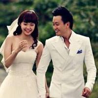 Ảnh cưới như mơ của Minh Hằng, Mạnh Hải