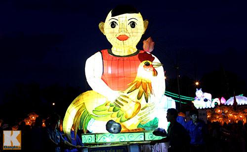 Lễ hội rước đèn Trung thu lớn nhất Việt Nam - 9