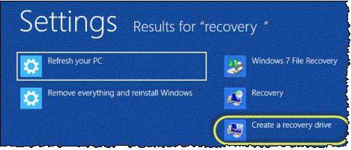 Tạo ổ đĩa USB phục hồi Windows 8 - 2