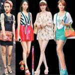 Thời trang - Chân dài bắt mắt trên đường phố HongKong