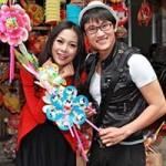 Hà Trí Quang đón Trung thu bên người đẹp
