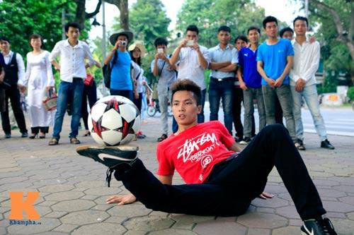 Gặp nhà vô địch tâng bóng nghệ thuật châu Á - 7