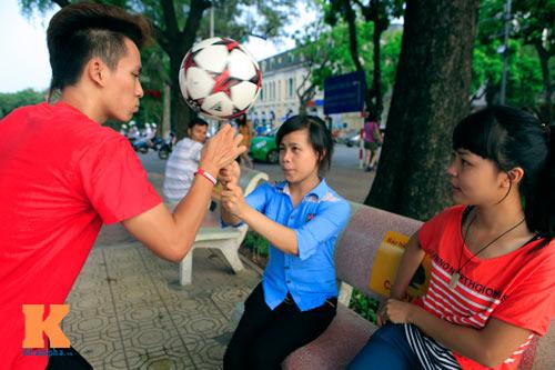 Gặp nhà vô địch tâng bóng nghệ thuật châu Á - 10