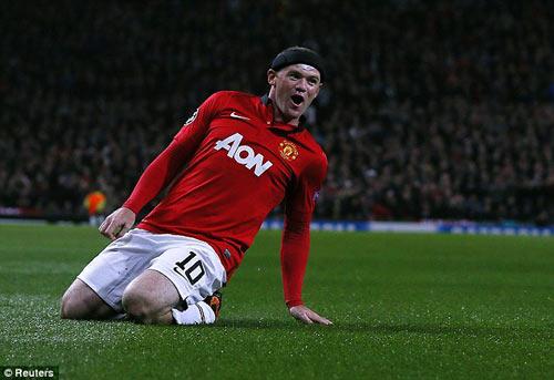 MU: Bay trên đôi cánh Rooney - 2